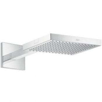 Starck 1 Jet Overhead Shower with Arm 240x240mm Polished Gold Optic