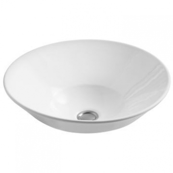 Conical Bell Vessel Basin Without Mixer Hole 413 x 413mm White