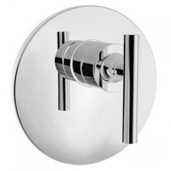 Purist Recessed Shower Trim Only Polished Chrome