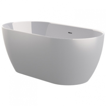 ASP - Zala One Piece Freestanding Bath 1500x740x570mm White