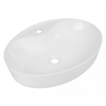 Solo Rhodes Freestanding Basin 570x410x140mm White