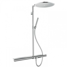 Showerpipe 800 with Thermostatic Mixer & Overhead Shower 350 1Jet