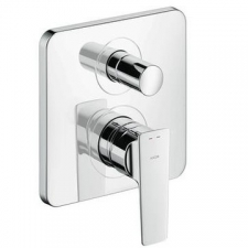 AX Citterio E Single Lever Bath Mixer For Concealed Installation Chrome