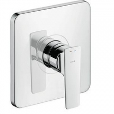 AX Citterio E Single Lever Shower Mixer For Concealed Installation Chrome
