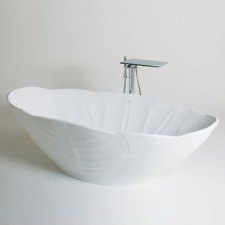 Boutique Baths - Orchid Bath Freestanding Rimless 1960x965x560mm High Gloss White