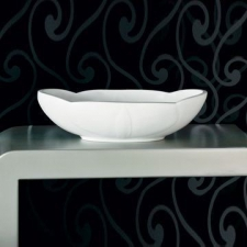 Boutique Baths - Orchid Basin Countertop 160x576x336mm High Gloss White