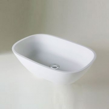 Boutique Baths - Vivace Basin CountertopLarge High Gloss White