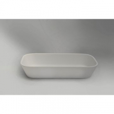 Boutique Baths - Vive Slimline Large Basin Countertop 130x360x715mm High Gloss White