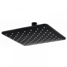 BluTide - Dune Square Shower Head 200mm Black