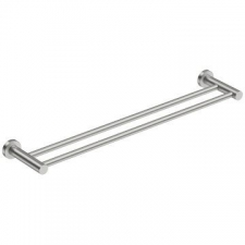 Bathroom Butler - 4600 Double Towel Rail 650mm Brushed S/Steel