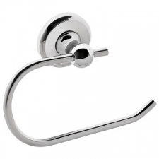 LR2100 Toilet Paper Holder (Type II) Chrome - Liquid Red