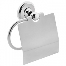 LR2100 Toilet Paper Holder Type II w/ Flap Chrome - Liquid Red