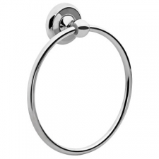 LR2100 Towel Ring Chrome - Liquid Red