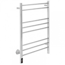 Bathroom Butler - Contour Wide Heated Towel Rail 8 Bar TDC CH