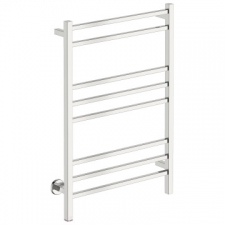 Bathroom Butler - Cubic Wide Heated Towel Rail 8 Bar PTS Chrome