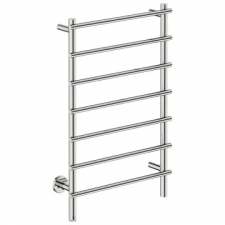 Bathroom Butler - Loft Straight Heated Towel Rail 7 Bar PTS Chrome