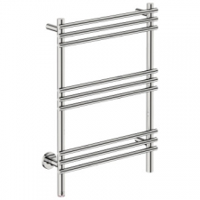 Bathroom Butler - Loft Straight Heated Towel Rail 9 Bar PTS Chrome