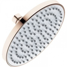 Plus Shower Rose 200mm Polished Rose Gold - Liquid Red