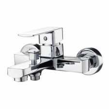 Sterlyn Bath Mixer Wall Type Complete Chrome - Meissen