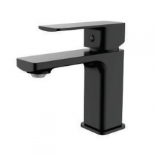 Sterlyn Single Lever Basin Mixer Double Black - Meissen