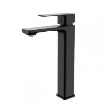 Sterlyn Single Lever Basin Mixer Long Double Black - Meissen
