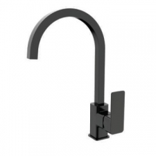Sterlyn Single Lever Deck-Type Sink Mixer Double Black - Meissen