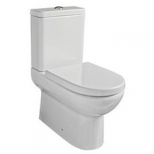 Gural Vit - Compact Back-To-Wall Pan White - TO BE DISCONTINUED