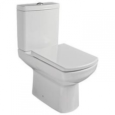 Gural Vit - Nero Back-To-Wall Pan White - TO BE DISCONTINUED