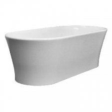 DADO - Elegance Freestanding Bath no Overflow 1800x840x590mm Pearl White