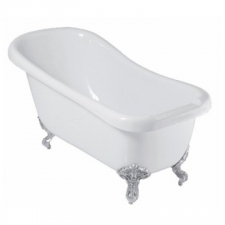 River Range - Orange Slipper - Baths - Freestanding - White
