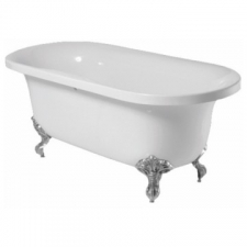 River Range - Gila - Baths - Freestanding - White