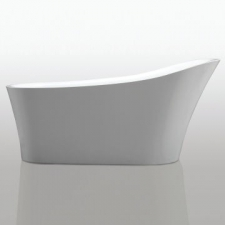 River Range - Rhine - Baths - Freestanding - White
