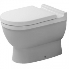 Duravit - Starck 3 Independent Floor Mounted Pan 370 x 560mm White Alpin
