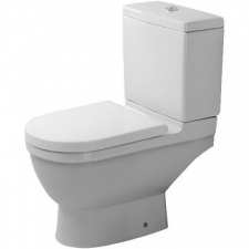Duravit - Starck 3 Toilet Close Couple Pan 370 x 655mm White Alpin
