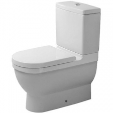 Duravit - Starck 3 Toilet Close Couple Pan 370 x 655mm White