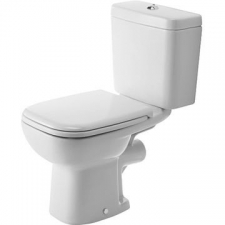 Duravit - D-Code Close Couple Pan 355 x 650 mm White Alpin