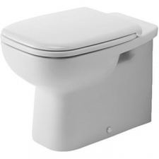 Duravit - D-Code Independent Floorstanding Pan 355 x 560mm White Alpin