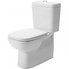 Duravit - D-Code Toilet Close Couple Pan 355 x 650mm White Alpin