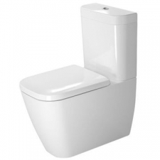Duravit - Happy D.2 Toilet Close Coupled Pan 365 x 630mm White