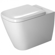 Duravit - Happy D.2 Floorstanding Back To Wall for Independent Water Supply 365x570mm White