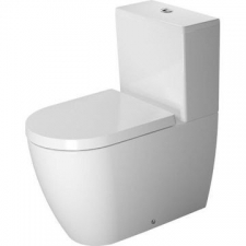 Duravit - ME by Starck Close Couple Pan 370 x 650mm White Alpin
