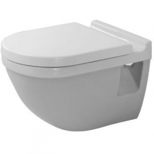 Duravit - Starck 3 Wall Mounted Pan 365 x 540mm White Alpin