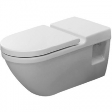 Duravit - Starck 3 Wall Mounted Pan For Barrier Free Applications 360 x 700mm White