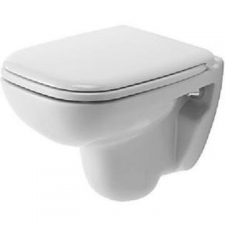 Duravit - D-Code Wall Mounted Compact Pan 350 x 480mm White Alpin
