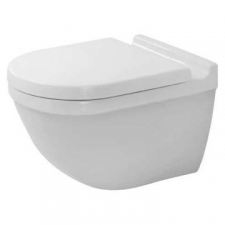 Duravit - Starck 3 Wall Mounted Pan Durafix Included 365 x 540mm White