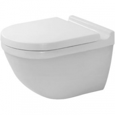 Duravit - Starck 3 Undershower 54cm Wall Mounted Pan Durafix White