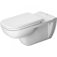 Duravit - D-Code Toilet Wall Mounted Pan for Barrier Free Applications 360x700mm White