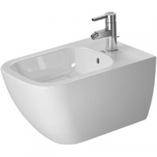 Duravit - Happy D2 Wall Mount Bidet Durafix Included 365 x 540mm White
