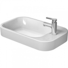 Duravit - Happy D.2 Above Counter Basin Ground w/Overflow With Tap Platform 650x400mm White