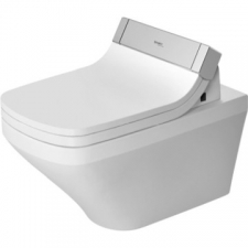 Duravit - DuraStyle Rimless SensoWash Wall Mounted Pan 376x620mm w/WonderGliss White Alpin